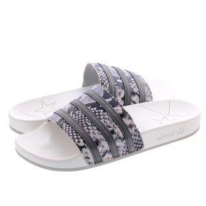 Limited Edition Adidas Adilette Slides Leather 39